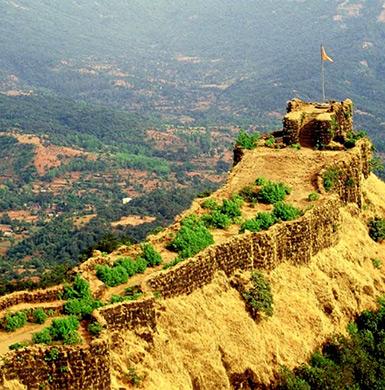 Pratapgarh Fort in Mahabaleshwar